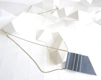 "Necklace ""A wave print"""
