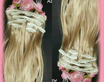 Remy hair extensions 7 pc 20 inches