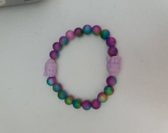 Bracelet with Buddha head