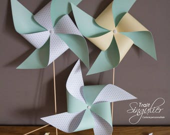 Windmill - star Theme - christening