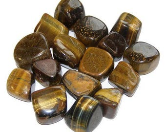 Wrapped 2-3cm Tiger eye stone