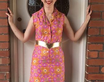 Super Cute Colourful Sixties Dress