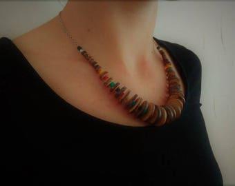 Coconut Dance necklace