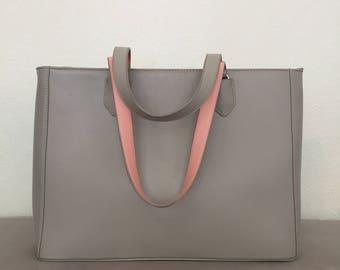 Pilot grey rose bag