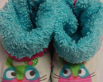 Slippers boots 0/3 months