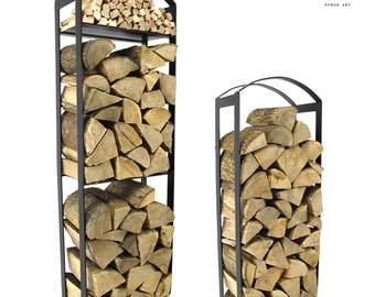 The Broughton Log Holder Firewood Rack Log Basket Firewood Holder Storage
