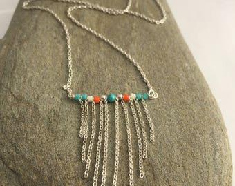 Manuela - 925 sterling silver necklace