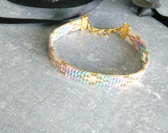 Miyuki beads weaved bracelet