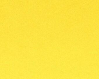 Felt 2 mm yellow - 30 x 30 cm - Ref FE3904 cutting