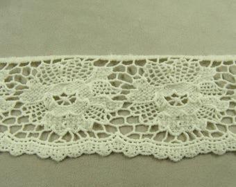 Ribbon lace - 5,5 cm - ecru