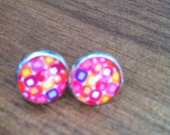 """Collection bijouxcabochon """"psychedelic Roses"""""""
