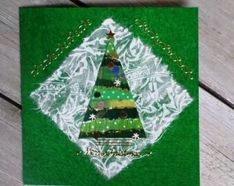 Green Card Christmas tree