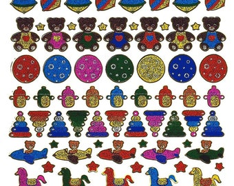 Santa Claus STICKERS SCRAPBOOKING STICKERS toys children 13 cm x 10 cm