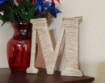 Twine Wrapped Monogram