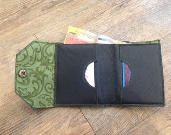 Handmade simple leather wallet