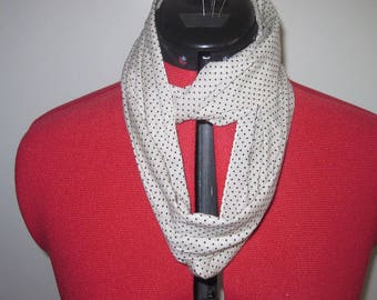 Snood, neck, infinity scarf, circular scarf, tube scarf