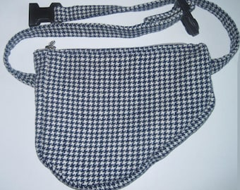 houndstooth BUM BAG