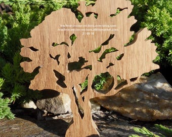 "WOODEN tree ""Hawthorn"" without stand"