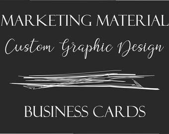 Custom Graphic Design - Business Card Design