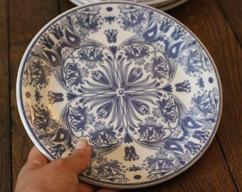 Vintage italian ceramic little plates