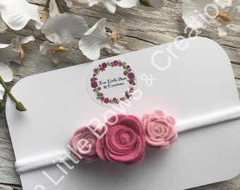 flower crown, headband, newborn headband, baby headband, photoshoot headband