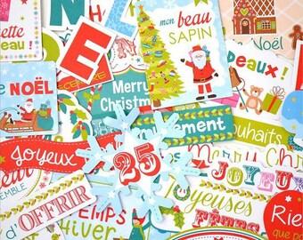 Embellishments - Die cut Toga Christmas Toys - 36 pcs - Toga - new home
