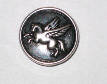 """""""Pegasus"""" metal snap button, size L"""