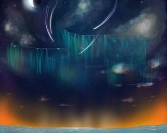 Ocean At Night
