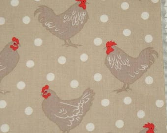 """Makower - """"Chicken and egg"""" embroidery 02."""