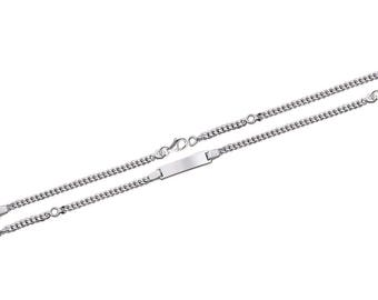 Mixed chain Silver 925/000 16 cm bracelet / 50283316