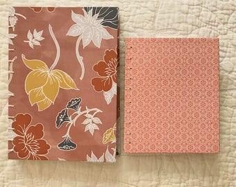 Floral | Pink Detailed Notebook Bundle (2)