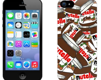 Case for iPhone 4-5-6-7, Nutella