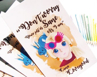 Luna Lovegood Bookmarks