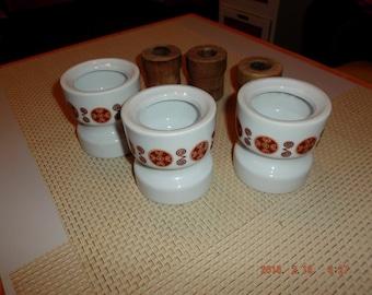 Ceramic candle sticks