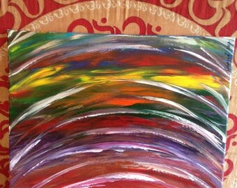 Original Abstract Acrylic Artwork painted on canvas