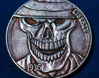 Hobo Nickel 1937 -D 3-legged Buffalo NICKEL COPY COIN 4