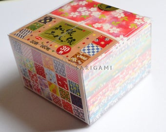 Small origami papers colorful 30 designs!