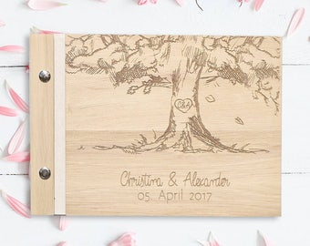 Tree guestbook to the wedding