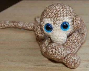 Monkey, ragdoll, toy, stuffed animal, baby
