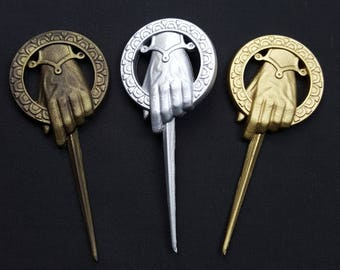 Game of Thrones - Hand of the King / Hand of the Queen - Badge Pin