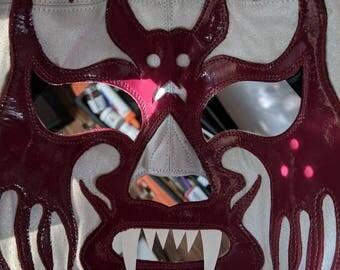 Lucha libre máscara pro wrestling vampire mask Mexican hand made