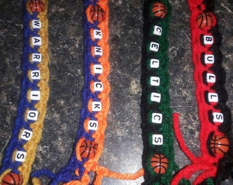 Basketball keychains / zipper pulls
