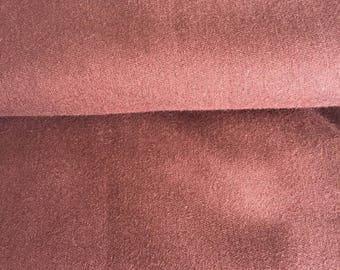 Plum/Brown fabric - heavy cotton
