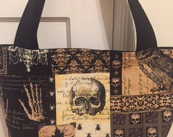 The World's Best Horror Tote Bag / Purse- Gothic Horror Print