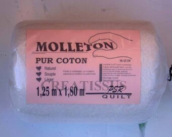 Pure cotton 1.8 m x 1.25 m fleece