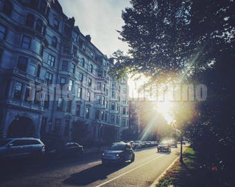 Back Bay Sunset | Boston, MA - FREE SHIPPING!