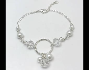 """""""Crystal"""" bracelet and beads"""