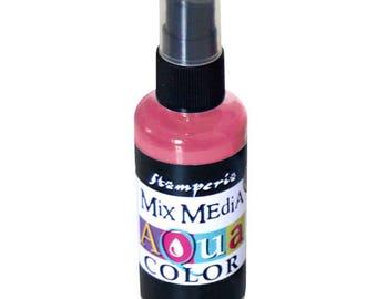 Aquacolor old spray bottle Rose