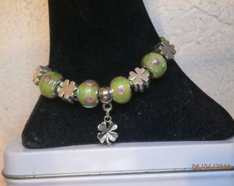 How Earth green theme pandora bracelet