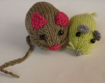 Little mouse will become great green or brown